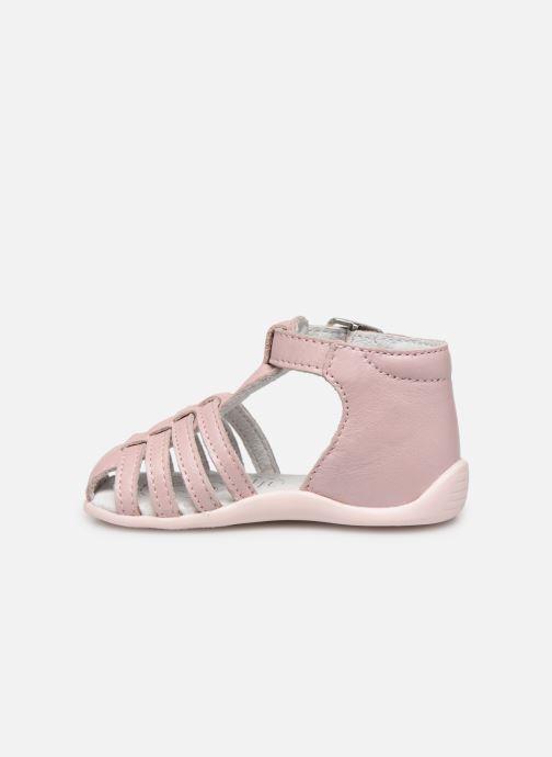 Sandales et nu-pieds Bopy Paulana Rose vue face