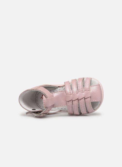 Sandales et nu-pieds Bopy Paulana Rose vue gauche