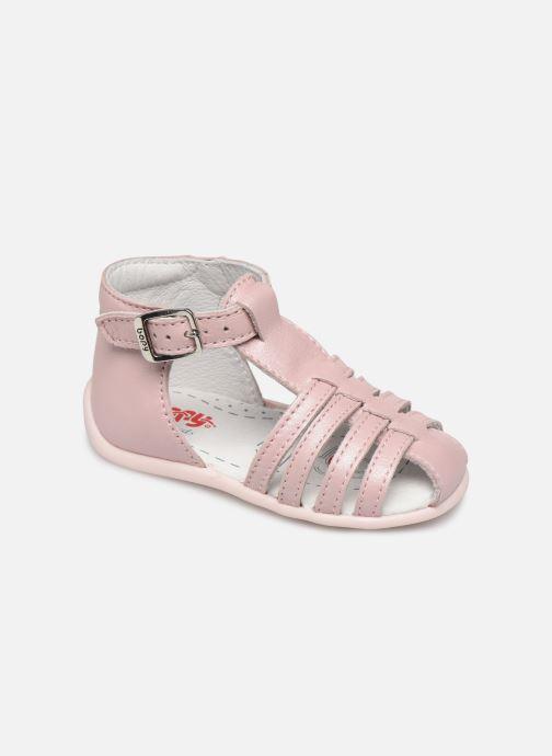 Sandales et nu-pieds Bopy Paulana Rose vue détail/paire