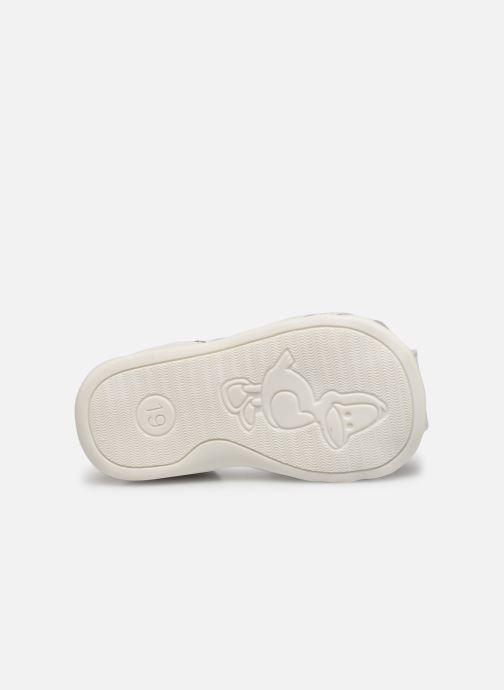Sandales et nu-pieds Bopy Paulana Blanc vue haut