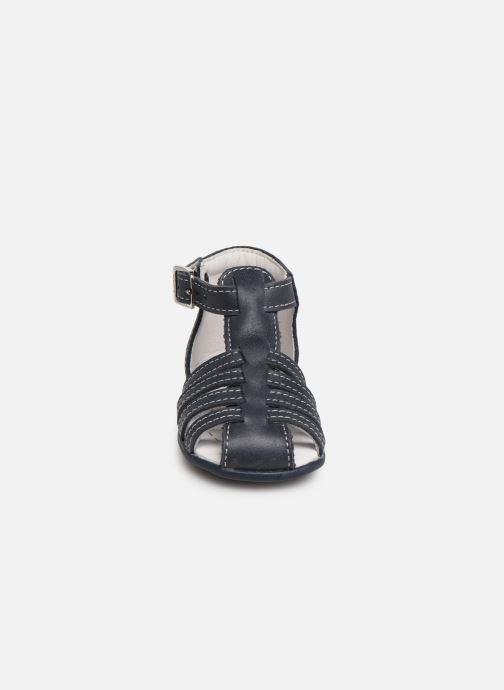 Sandales et nu-pieds Bopy Paulana Blanc vue portées chaussures
