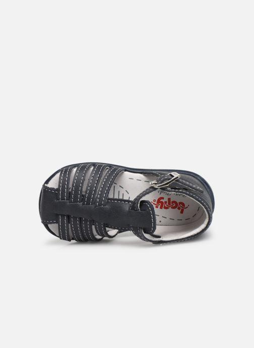 Sandales et nu-pieds Bopy Paulana Blanc vue gauche