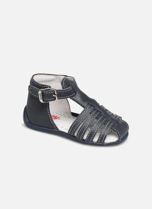 Sandales et nu-pieds Bopy Paulana Blanc vue détail/paire