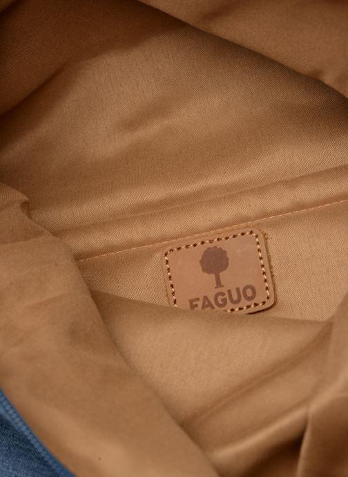 Rucksacks Faguo CYCLING Blue back view
