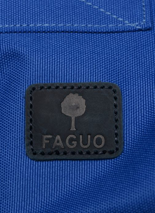 Rucksacks Faguo CYCLING Blue view from the left