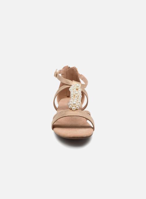 Sandales et nu-pieds Bullboxer Luna Beige vue portées chaussures