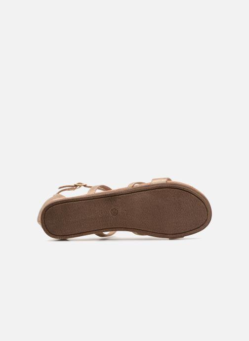 Sandales et nu-pieds Bullboxer Luna Beige vue haut