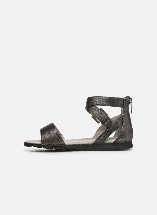 Sandales et nu-pieds Bullboxer Chiara Argent vue face