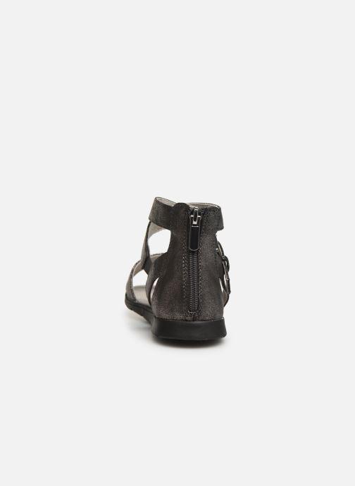 Sandales et nu-pieds Bullboxer Chiara Argent vue droite