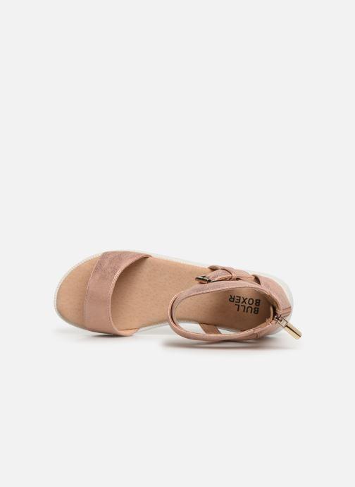 Sandales et nu-pieds Bullboxer Chiara Beige vue gauche