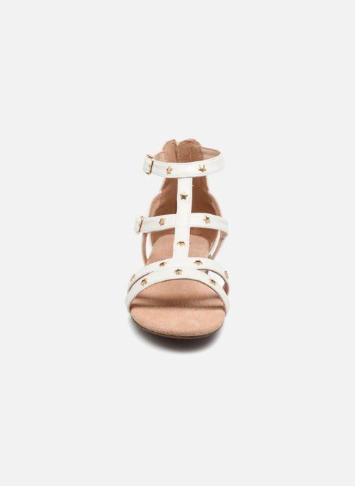 Sandales et nu-pieds Bullboxer Dalia Blanc vue portées chaussures