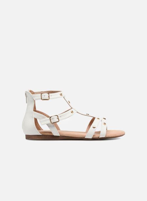 Sandales et nu-pieds Bullboxer Dalia Blanc vue derrière
