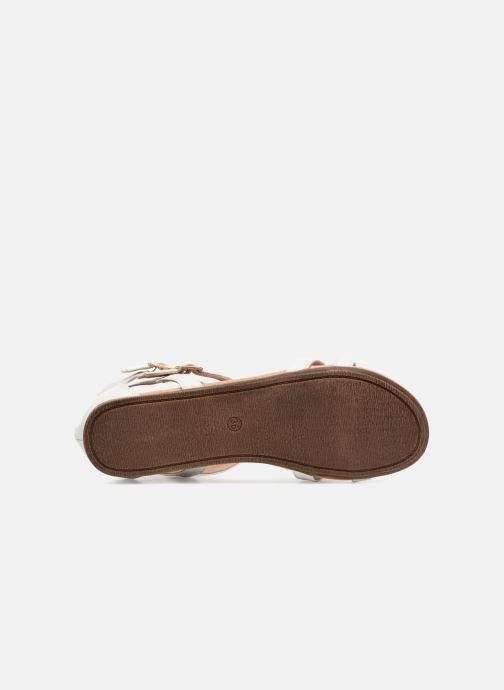 Sandales et nu-pieds Bullboxer Dalia Blanc vue haut
