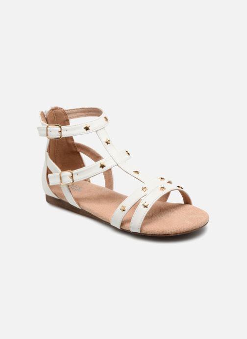 Sandales et nu-pieds Bullboxer Dalia Blanc vue détail/paire
