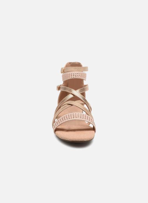 Sandales et nu-pieds Bullboxer Ida Or et bronze vue portées chaussures