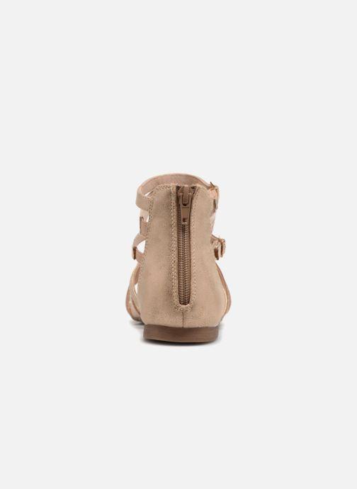 Sandales et nu-pieds Bullboxer Ida Or et bronze vue droite