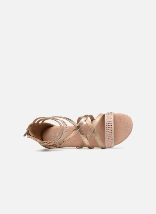 Sandales et nu-pieds Bullboxer Ida Or et bronze vue gauche