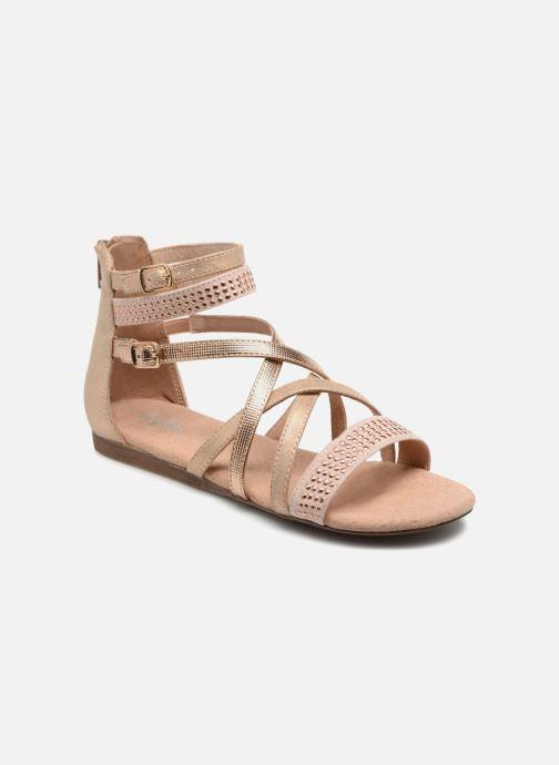 Sandales et nu-pieds Bullboxer Ida Or et bronze vue détail/paire
