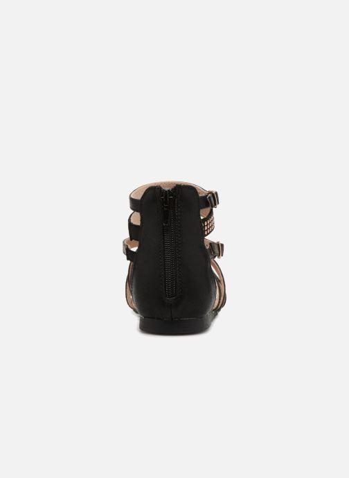 Sandales et nu-pieds Bullboxer Ida Noir vue droite