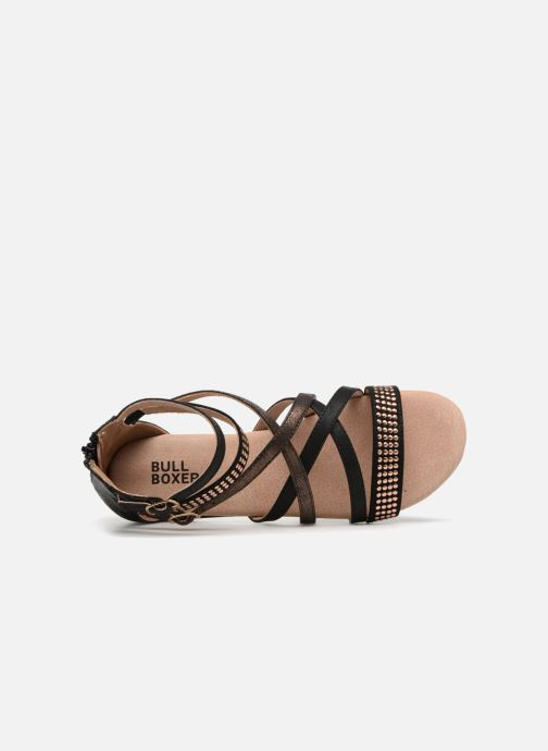 Sandales et nu-pieds Bullboxer Ida Noir vue gauche