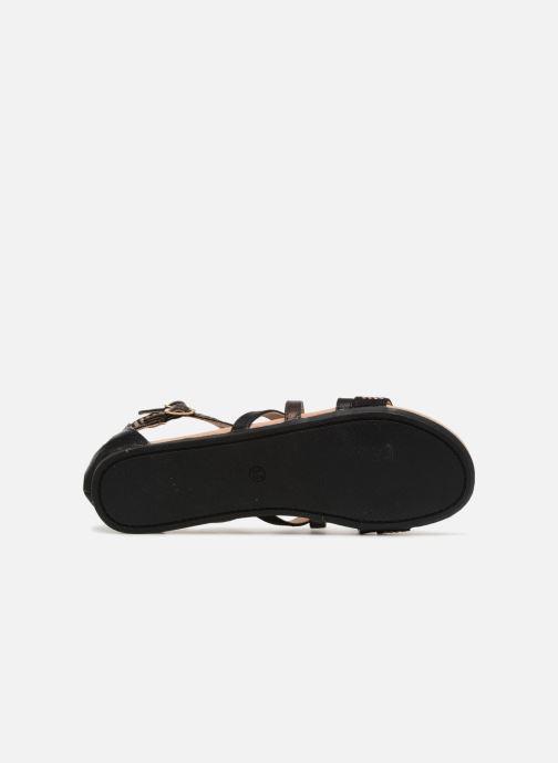 Sandales et nu-pieds Bullboxer Ida Noir vue haut
