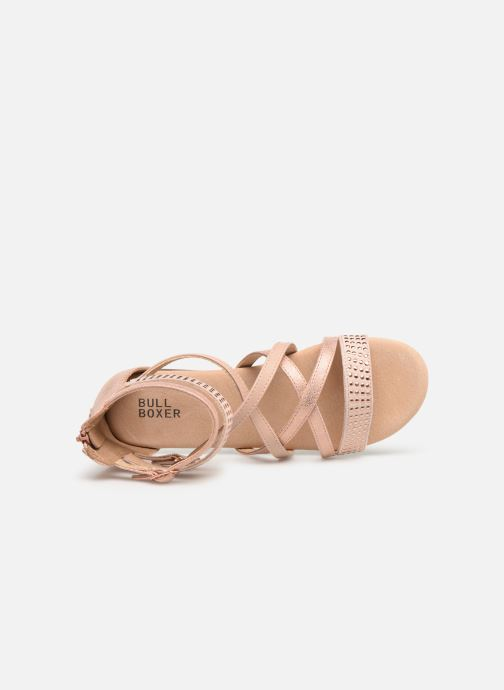 Sandals Bullboxer Ida Pink view from the left