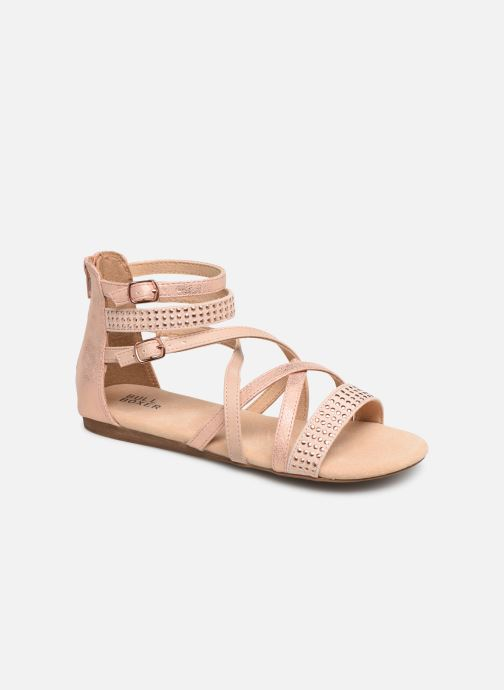 Sandals Bullboxer Ida Pink detailed view/ Pair view