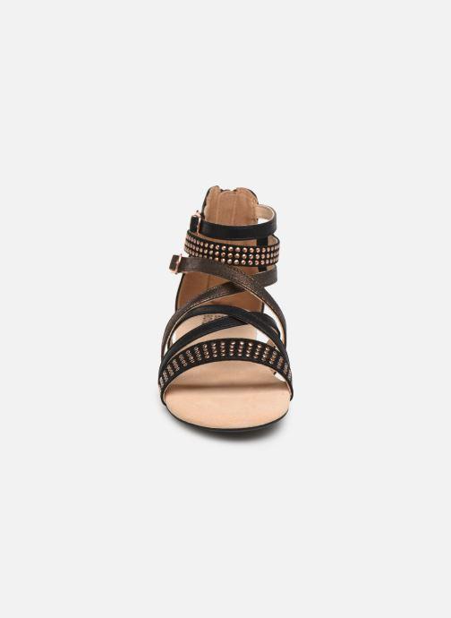 Sandales et nu-pieds Bullboxer Ida Noir vue portées chaussures