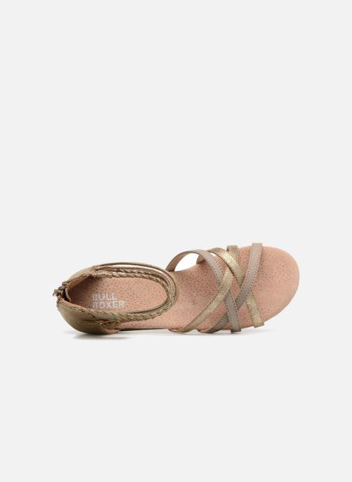 Sandales et nu-pieds Bullboxer Fabia Beige vue gauche