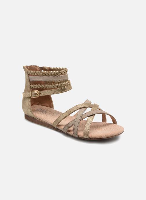 Sandales et nu-pieds Bullboxer Fabia Beige vue détail/paire