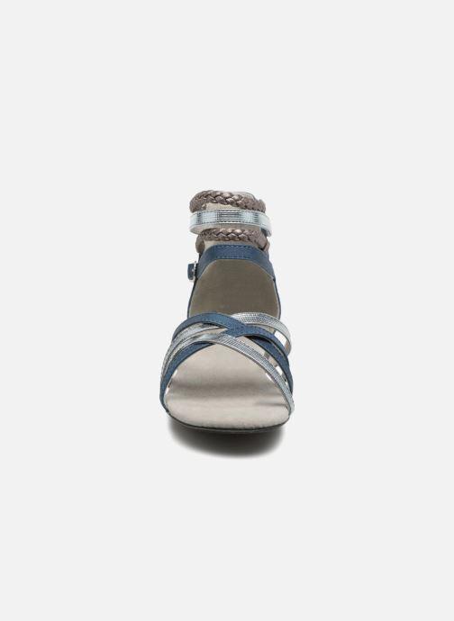 Sandales et nu-pieds Bullboxer Fabia Bleu vue portées chaussures