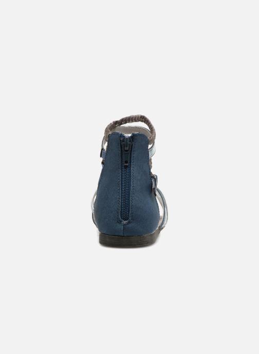 Sandales et nu-pieds Bullboxer Fabia Bleu vue droite