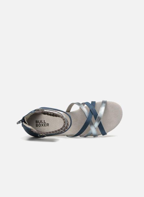 Sandales et nu-pieds Bullboxer Fabia Bleu vue gauche