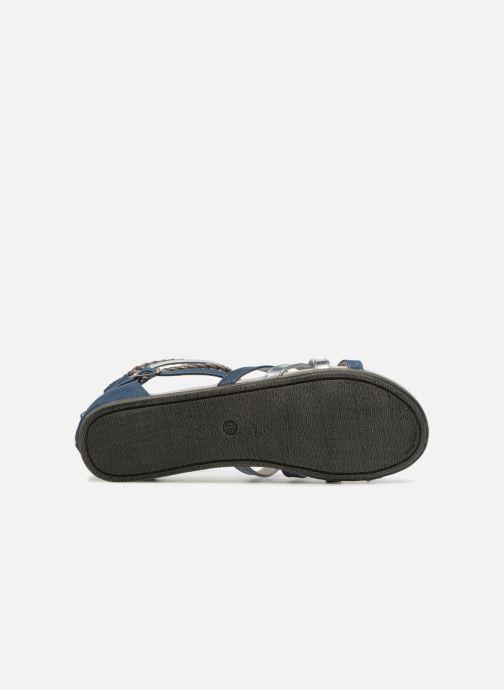 Sandales et nu-pieds Bullboxer Fabia Bleu vue haut