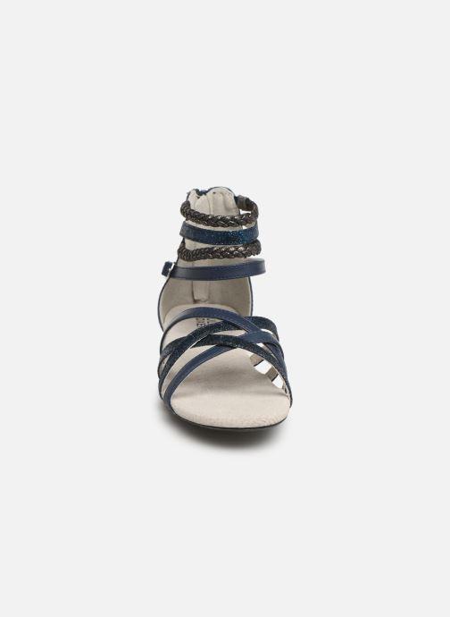 Sandali e scarpe aperte Bullboxer Fabia Azzurro modello indossato