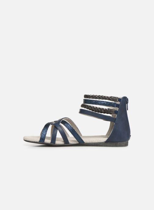 Sandales et nu-pieds Bullboxer Fabia Bleu vue face