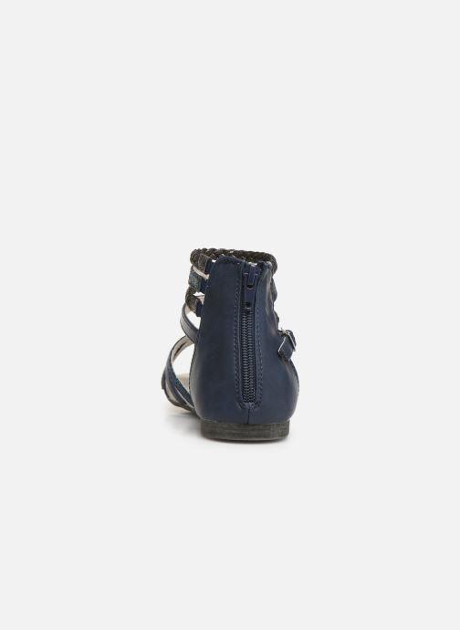 Sandali e scarpe aperte Bullboxer Fabia Azzurro immagine destra