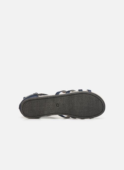 Sandali e scarpe aperte Bullboxer Fabia Azzurro immagine dall'alto