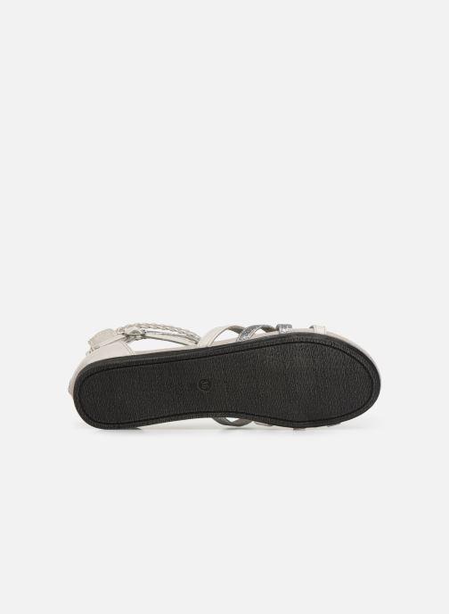 Sandales et nu-pieds Bullboxer Fabia Gris vue haut