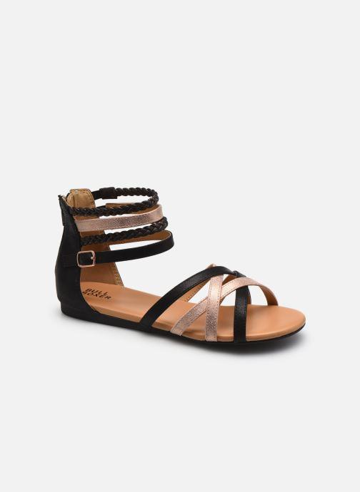 Sandales et nu-pieds Bullboxer Fabia Or et bronze vue détail/paire