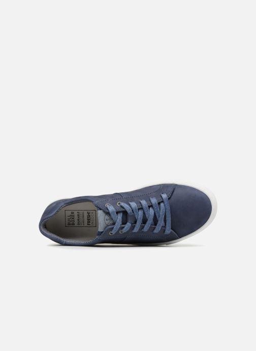 Sneakers Bullboxer Alfio Blauw links