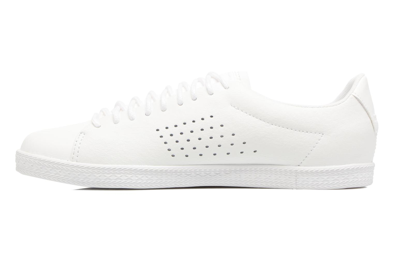 Trainers Le Coq Sportif Charline Leather White front view