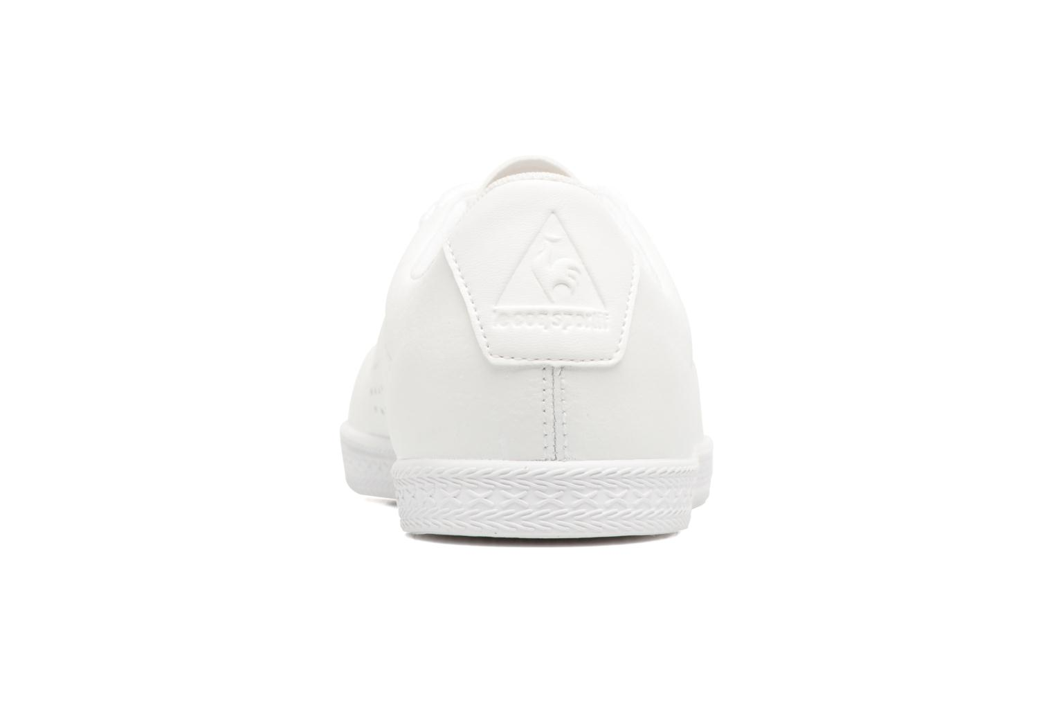 Trainers Le Coq Sportif Charline Leather White view from the right