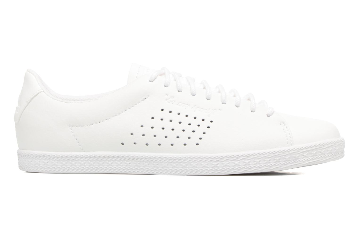 Trainers Le Coq Sportif Charline Leather White back view
