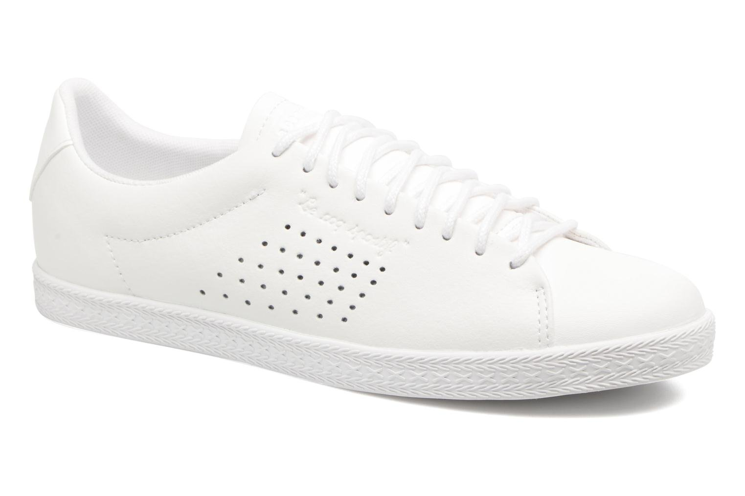 Trainers Le Coq Sportif Charline Leather White detailed view/ Pair view
