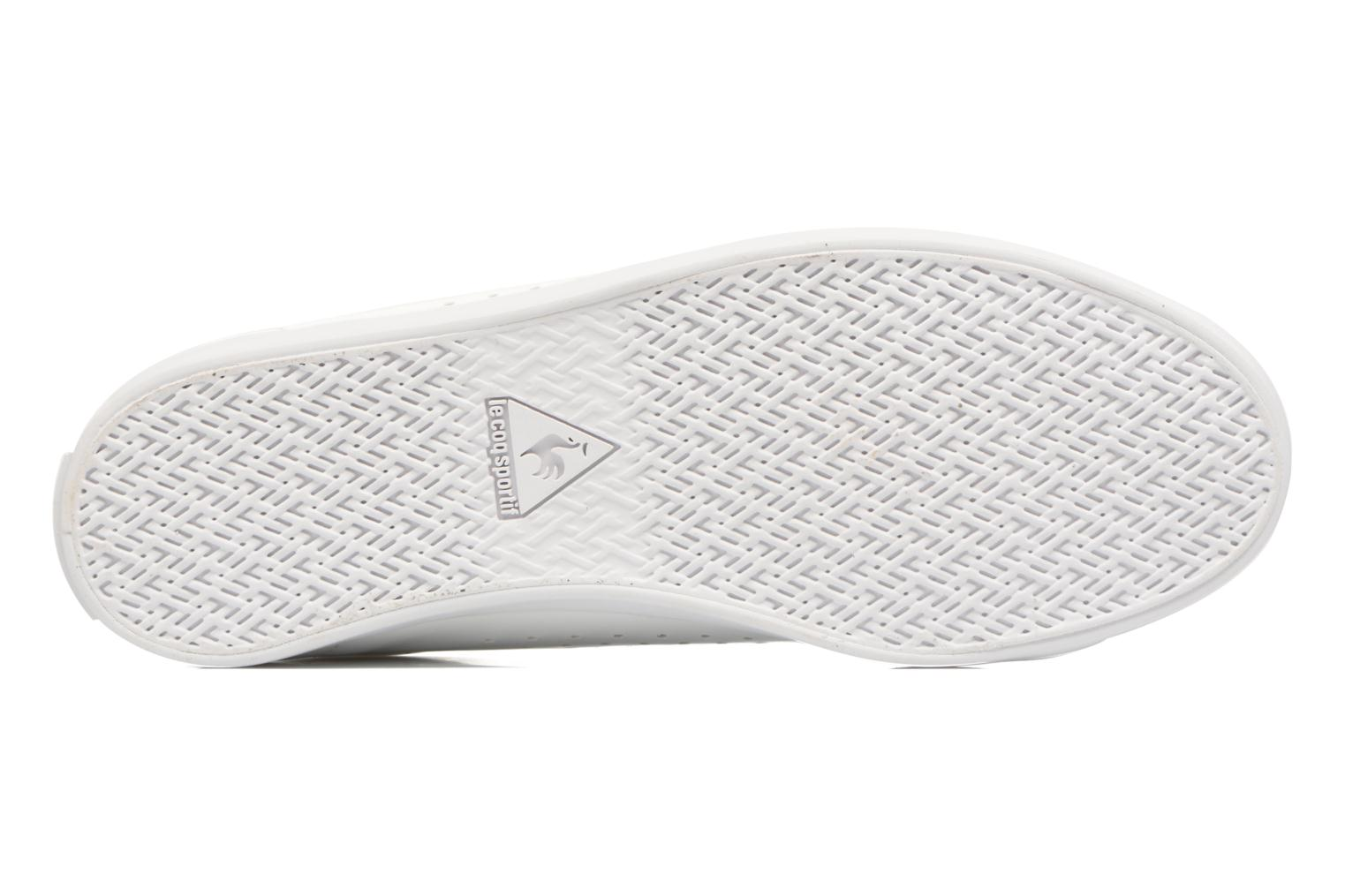 Trainers Le Coq Sportif Agate Lo Patent White view from above