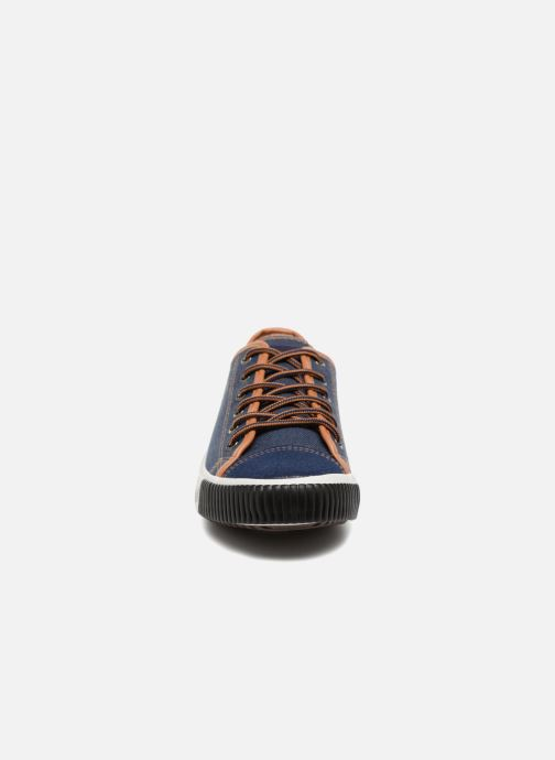 Baskets Kaporal Dona Bleu vue portées chaussures