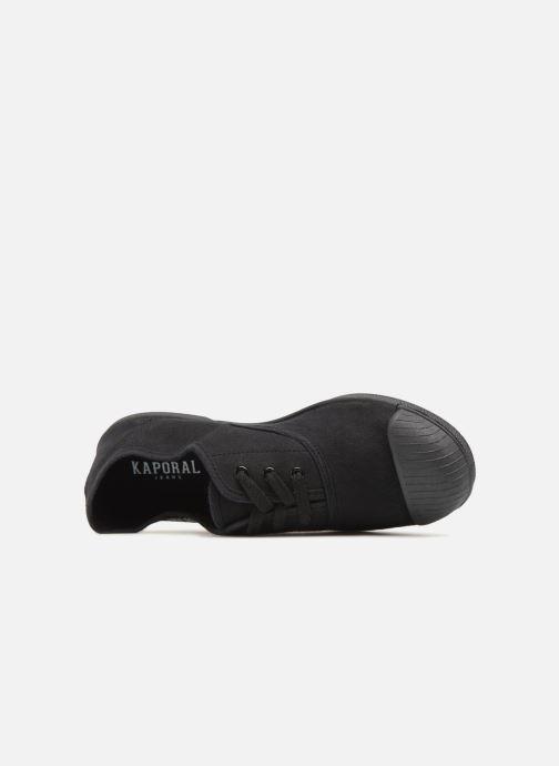 Sneaker Kaporal Fily schwarz ansicht von links