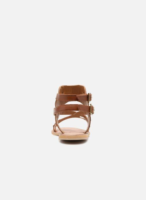 Sandales et nu-pieds Kaporal Moore Marron vue droite