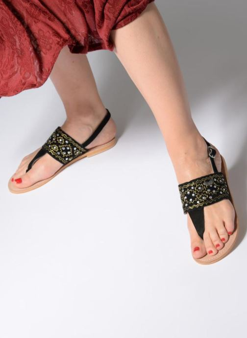 Sandali e scarpe aperte Kaporal Moost Nero immagine dal basso